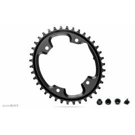 Absolute Black CX 1x Oval 110/4 Chainring Black