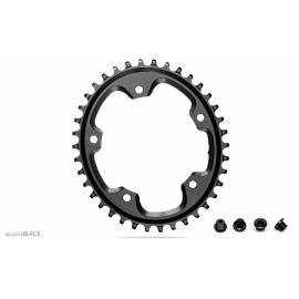 Absolute Black CX 1x Oval 110/5 Chainring Grey