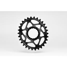 Absolute Black Oval Raceface Cinch DM 6mm Offset Chainring