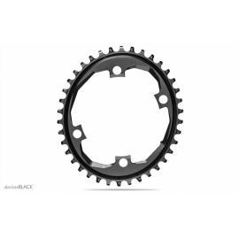 Absolute Black Road Oval SRAM Apex 1x 110/4 Chainring Black
