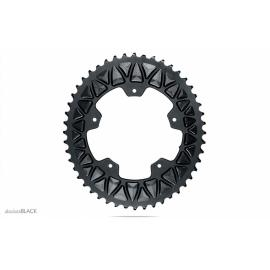 Absolute Black Road Oval Sub-Compact 110/5 Chainring Grey