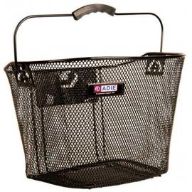 Adie Mesh basket Plastic Holder Black