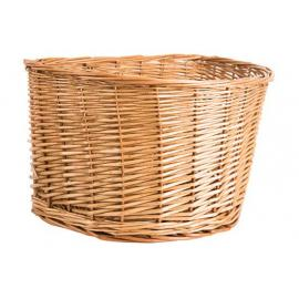 Adie Wicker Basket D Shaped