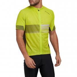 Altura Club Short Sleeve Mens Jersey Lime/Olive 2021