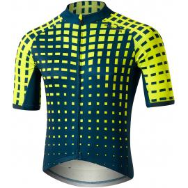 Altura Icon Short Sleeve Jersey - Bamboo Blue/Yellow