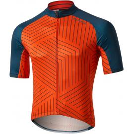 Altura Icon Short Sleeve Jersey - Tessalate Orange/Blue