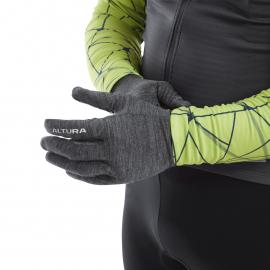 Altura Merino Liner Glove  Grey