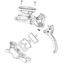 Avid Pad Pin Kit Elixir/Code Silver (2 pcs)