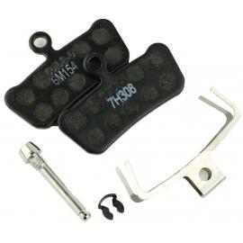 Avid X0 Trail Brake Pads Organic Steel Backplate