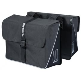 Basil Forte Double Bag Black/Black