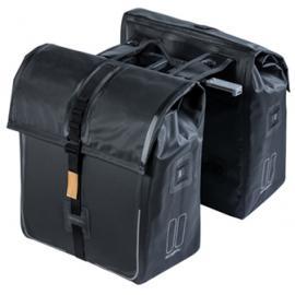 Basil Urban Dry Double Bag Mik Black