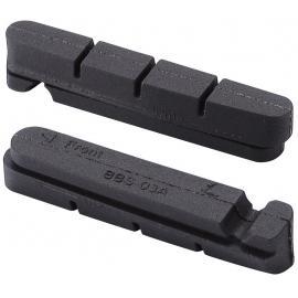 BBB 4 Pce Roadstop Pads Black