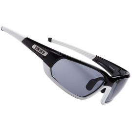 BBB BSG-45 Adapt Sport Glasses Black and White with Smoke Lenses