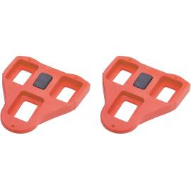 BBB RoadClip Cleats 4.5degree BPD 02A Red