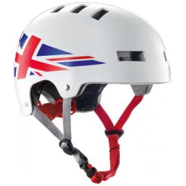 Bluegrass Superbold Union Jack Helmet White