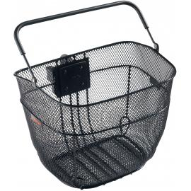 Basket Trek Interchange Handlebar Basket Wire Mesh Black