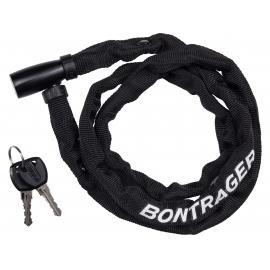 Bontrager Lock Comp Chain Keyed Long 4mm x 110cm Black