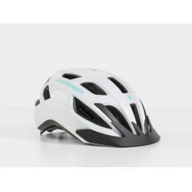 Bontrager Solstice Bike Helmet White/Miami Green