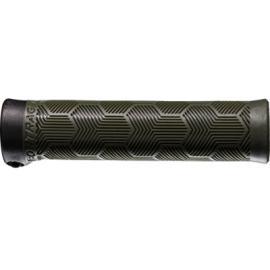 Bontrager XR Trail Comp MTB Grip Set Olive Grey