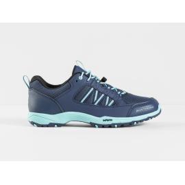 Shoes Bontrager SSR Women Bike Shoe Nautical Navy/Miami Green