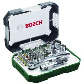 Bosch 26 Piece Screw And Ratchet Set