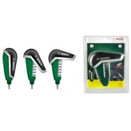 Bosch Pocket Screwdriver Set Black/Green