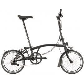 Brompton Black Edition H6L Folding Bike Gloss Black