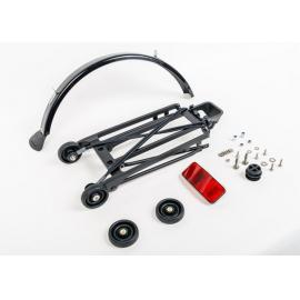 Brompton Complete Rack Set incl 4 Rollers + Mudguard - 6mm Holes