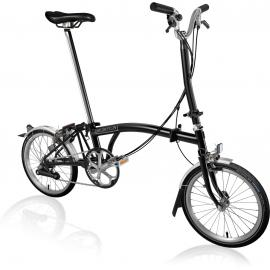 Brompton H6L Folding Bike Black 2020