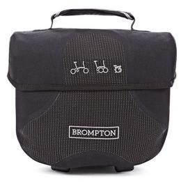 Brompton Mini O Bag (Black-reflective)
