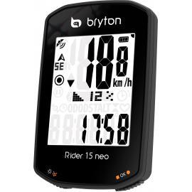 Bryton Rider 15C Neo Gps Cycle Computer Bundle