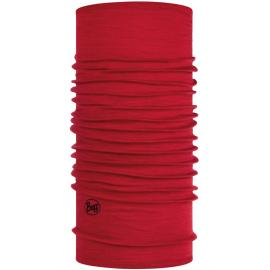 Buff Solid Red Lw Merino Wool