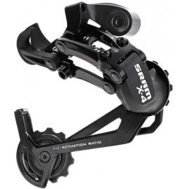 Sram X 4 Rear Mech 7 or 8 Speed Long Cage Black