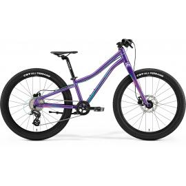 Merida Matts J24 Plus Kids Bike Purple-Teal 2021