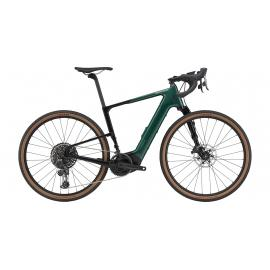 Cannondale Topstone Neo Crb Lefty 1 E-Gravel Emerald 2021