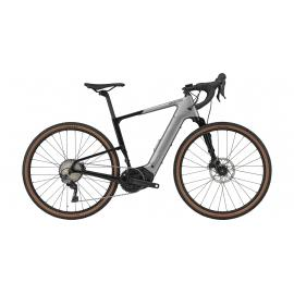 Cannondale Topstone Neo Crb Lefty 3 E-Gravel Grey 2021