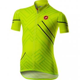 Castelli Campioncino Jersey Yellow Fluo 2021