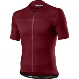 Castelli Classifica SS Jersey Bordeaux 2021