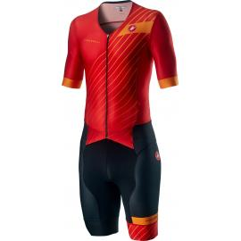 Castelli Free Sanremo 2 Suit SS Red/Fiery Red 2021