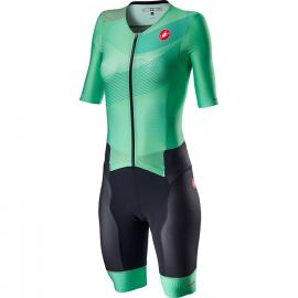 Castelli Free Sanremo 2 W Suit SS Multicolor Jade Green 2021