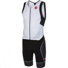 Castelli Free Sanremo Sleeveless Suit White/Black 2021