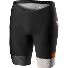 Castelli Free Tri Short Grey/Orange 2021
