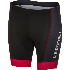 Castelli Future Racer Kid Short Black/Red 2021