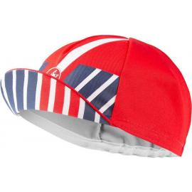 Castelli Hors Categorie Cap Red/Blue/White 2021