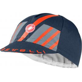 Castelli Hors Categorie Cap Savile Blue/Steel Blue/Orange 2021