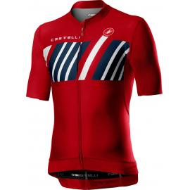 Castelli Hors Categorie SS Jersey Red 2021