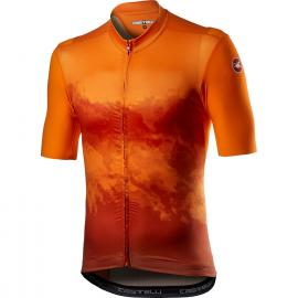 Castelli Polvere SS Jersey Orange 2021