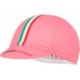 Castelli Rosso Corsa Cycling Cap Giro Pink