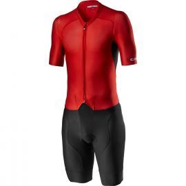 Castelli Sanremo 4.1 Speed Suit Black/Red 2021