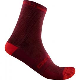 Castelli Superleggera T 12 Sock Bordeaux 2021